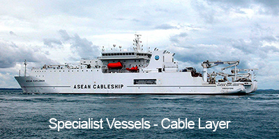 Specialist Vessels - Cable Layer